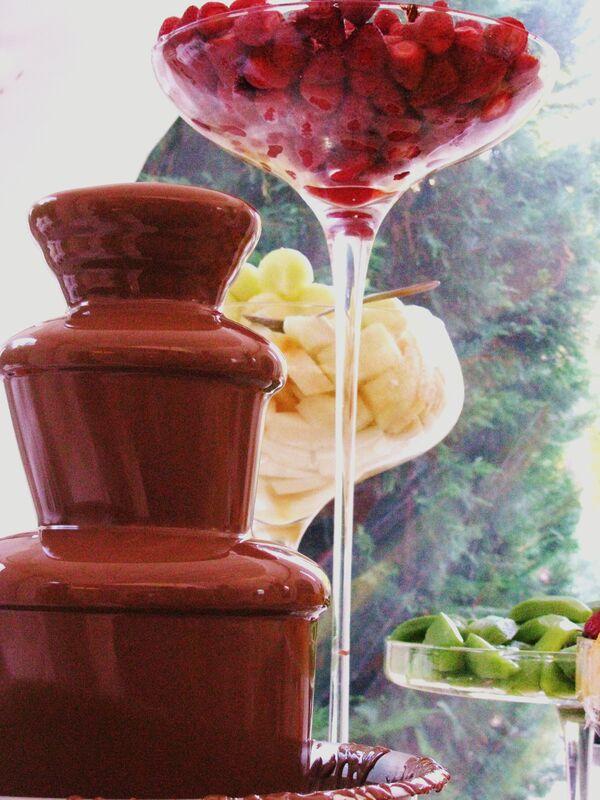 Fonte Chocolate Leite c/ Frutas
