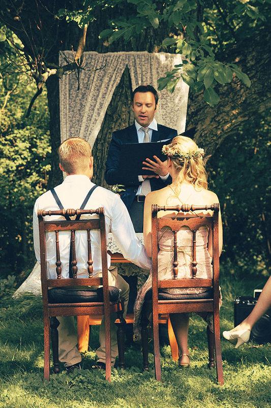Beispiel: Hochzeitsrede, Foto: Die freie Trauung Hendrik Zietz.
