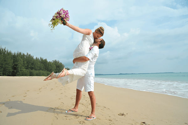Brautpaarshooting in Khao Lak - Heiraten in Thailand