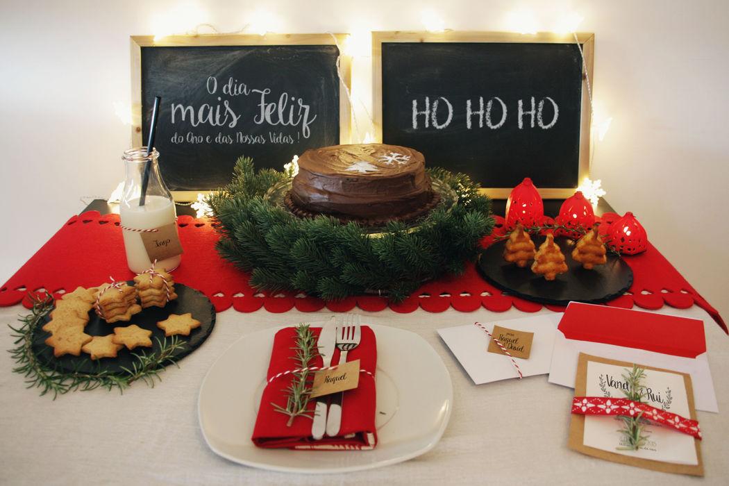 Um Conto de Natal - Decoração
