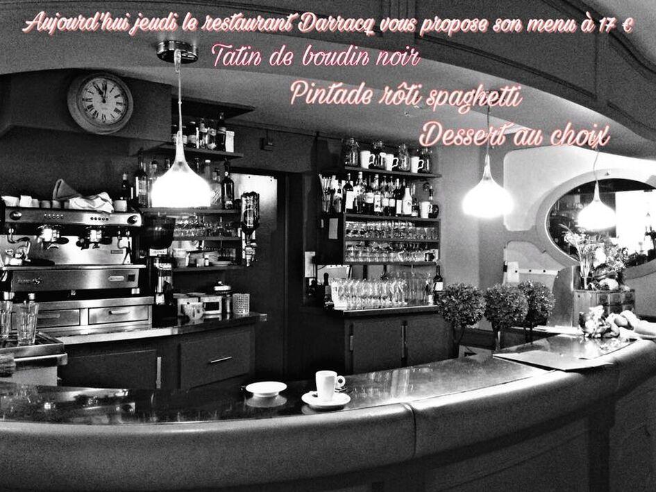 Chez Darracq - Hôtel Le Commerce**