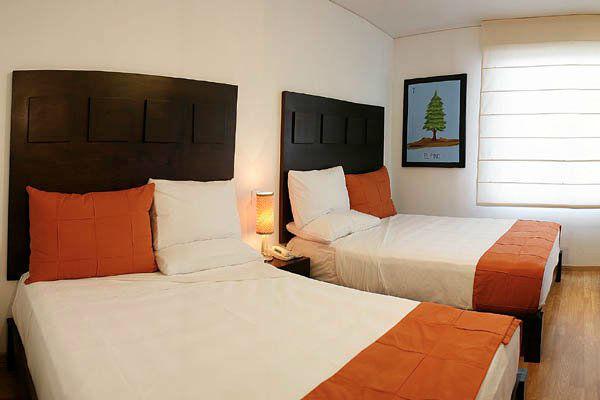 Hotel Mexico Plaza en Salamanca.