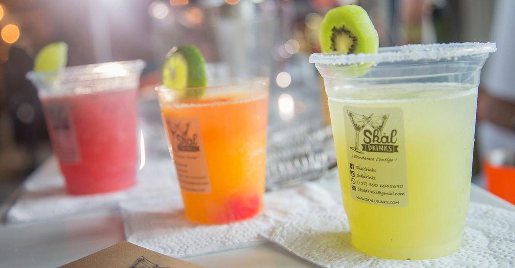 Skål Drinks ofrece muy buenos cócteles sin alcohol para los zanahorios.