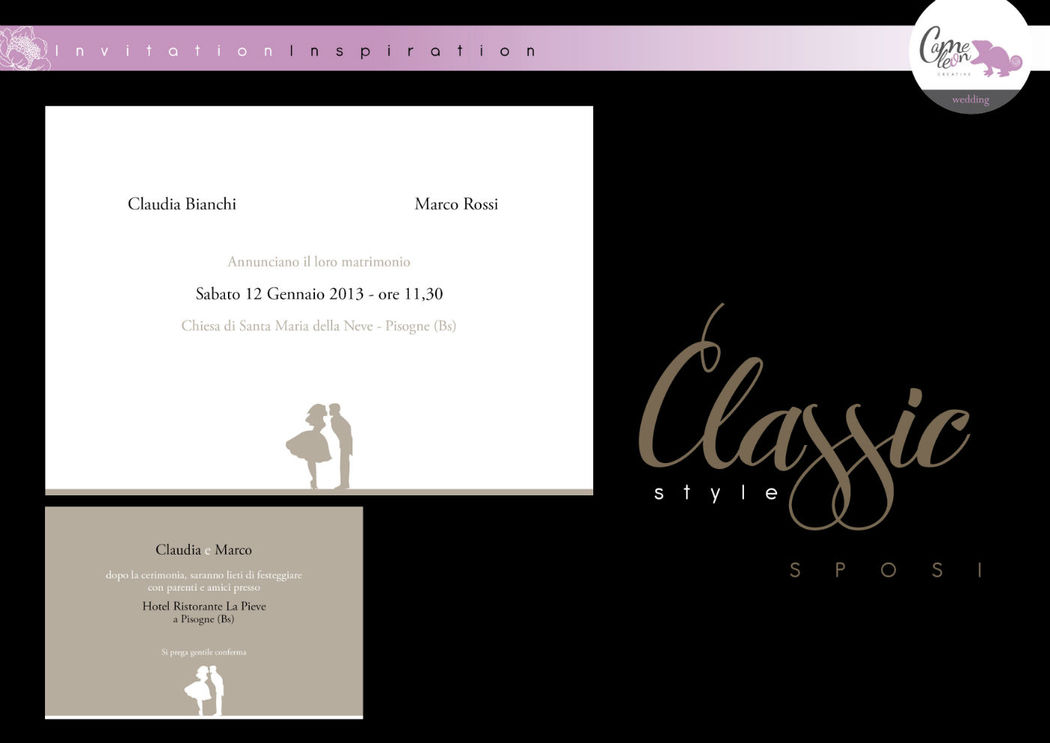 Linea Classic - Sposi