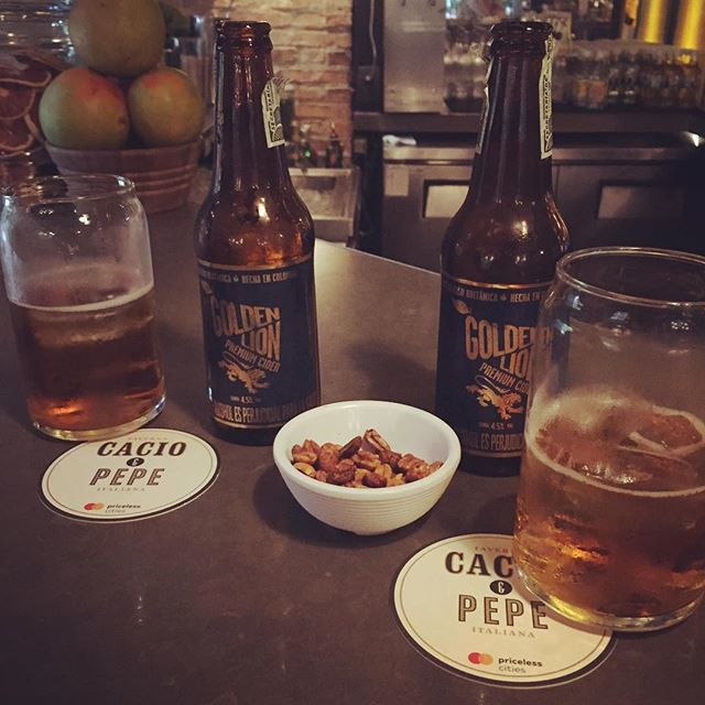 Golden Lion Colombian Cider