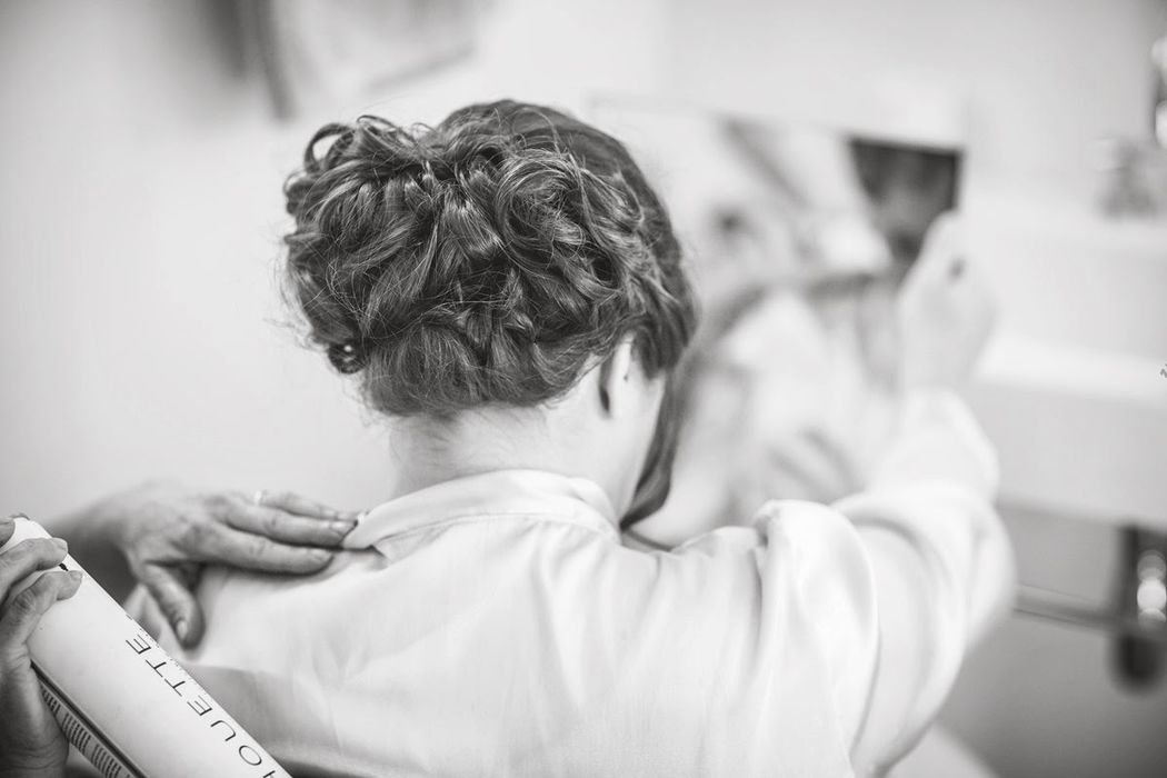 Wedding Hair in Provence