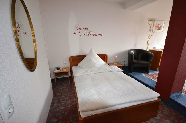 Beispiel: Hotelzimmer, Foto: Hotel Consul.