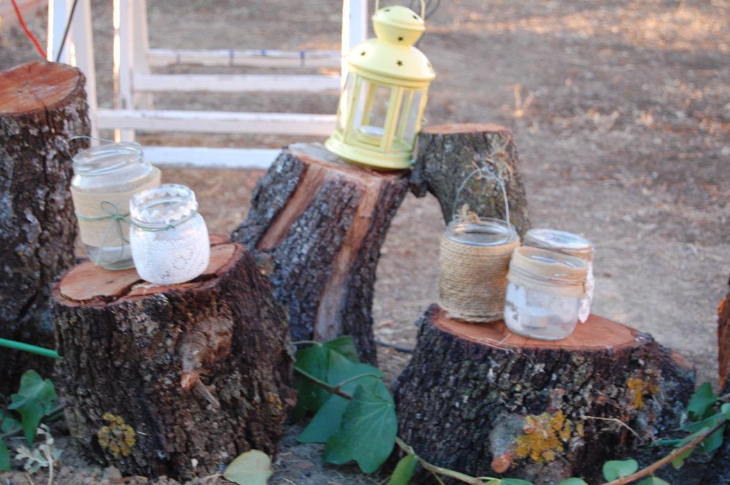 Detalle troncos