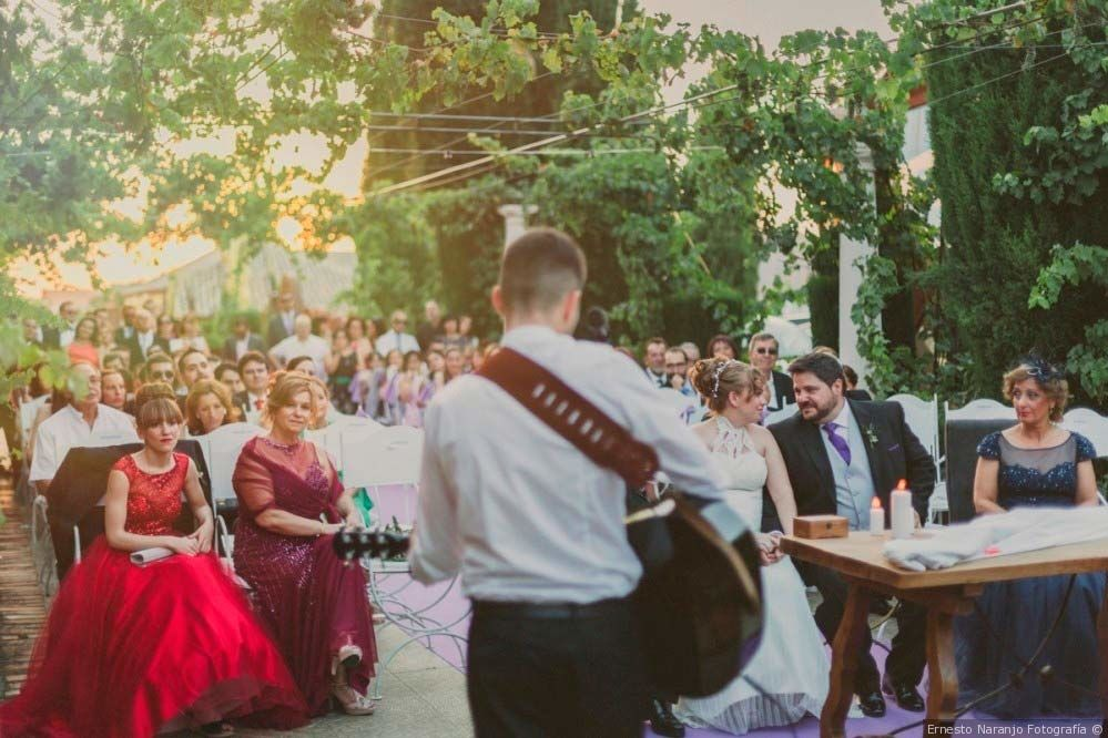 Ceremonia en el Patio de las Parras