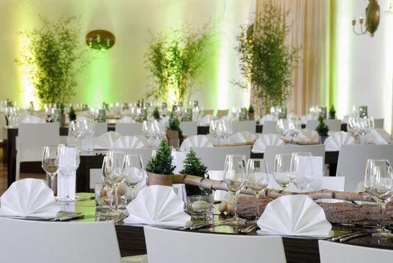 Beispiel: Festgedeck, Foto: Gourmet- u. Eventservice Da Gianni.