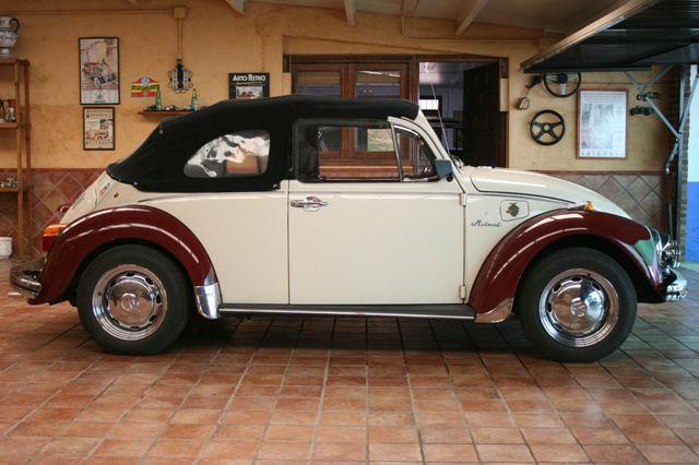 VW Escarabajo Cabrio