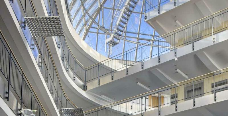 Beispiel: Atrium Foyer, Foto: Steinberger Esplanade.