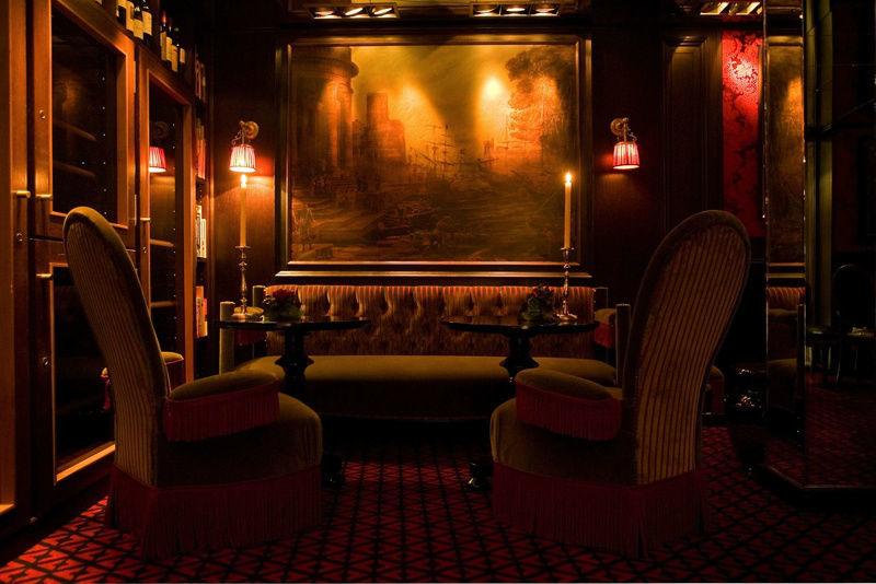 Beispiel: Lounge, Foto: Zarges Restaurant.