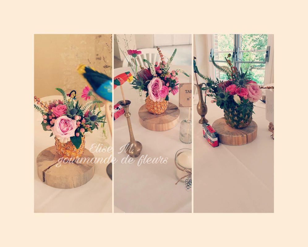 Gourmande de fleurs