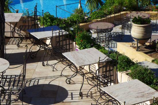 Terrasse - Hôtel Souleias