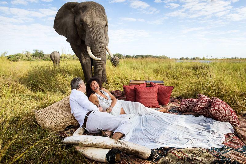 Beispiel: After-Wedding Botswana, Foto: Guido Grauer Hochzeitsfotograf.