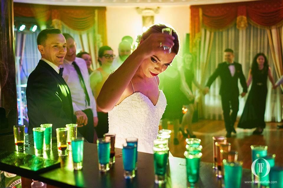 Barman Dragon na wesele
