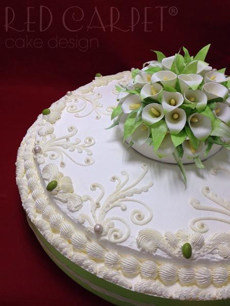 Red Carpet Cake Design