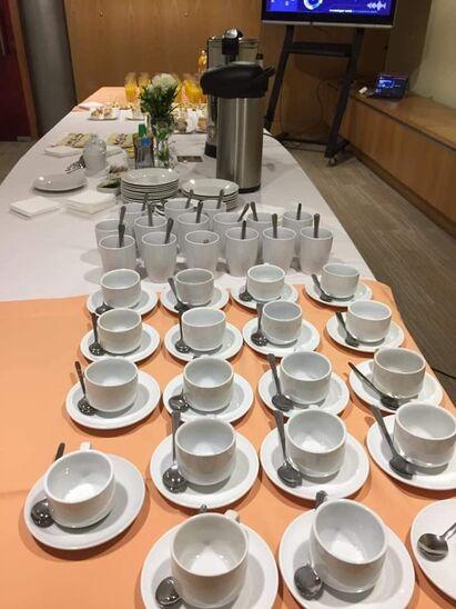 Andrea coffee break