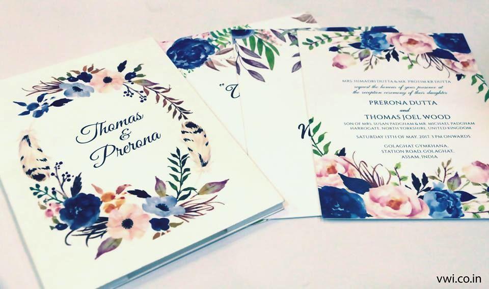 Voguish Wedding Invitation