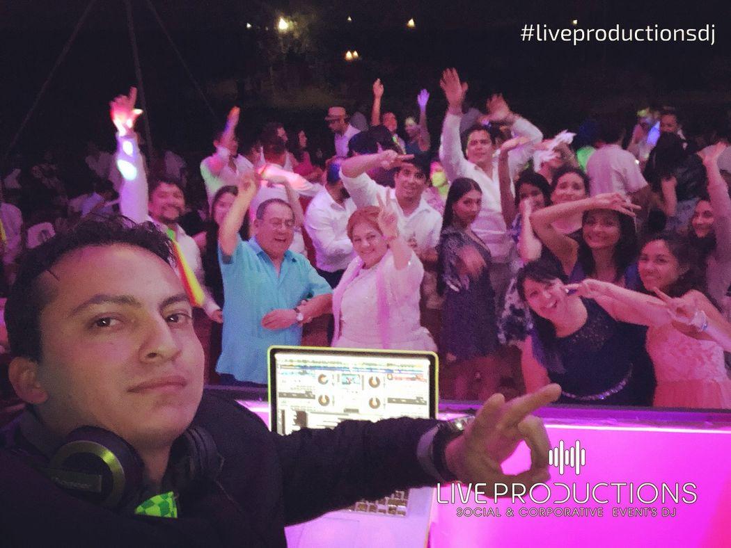 Live Productions - Weddings  DJ
