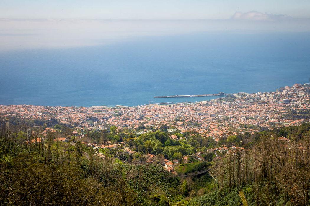 Vista sobre a Baía do Funchal