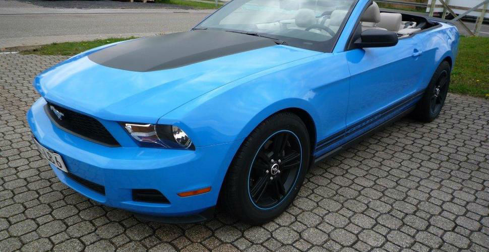 Beispiel: Ford Mustang, Foto: Xclusivecars.