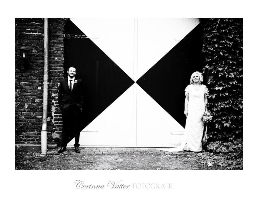 Hochzeitsfotografie-Schwarz-Weiss  Corinna Vatter Fotografie