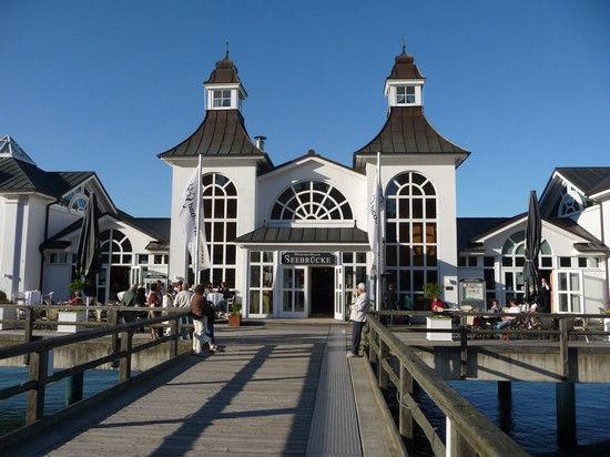 Beispiel: Außenansicht, Foto: Seebrücke in Sellin
