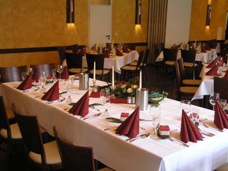 Beispiel: Hochzeitstafel, Foto: Der Legienhof.