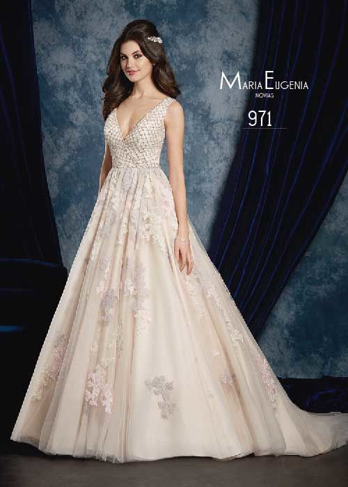 Vestido de novia 971 Colección Sapphire 2016
