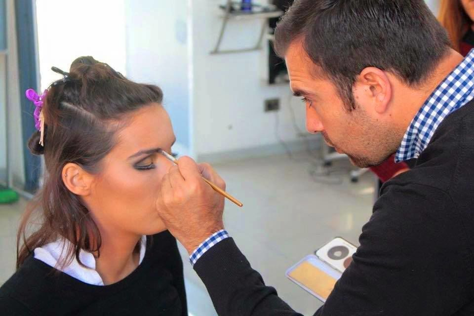 Juan Torres, profesional make up