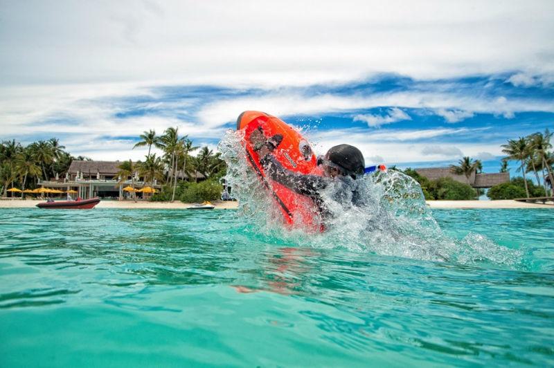Spaß im Urlaub Foto: Malediven via facebook