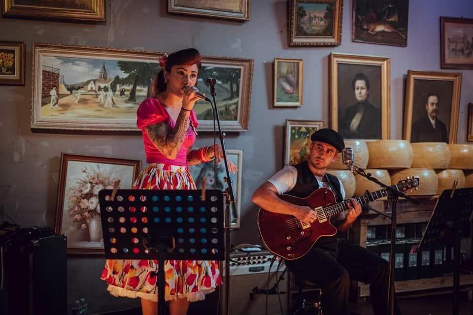Nancy Rose and Pitt Jam