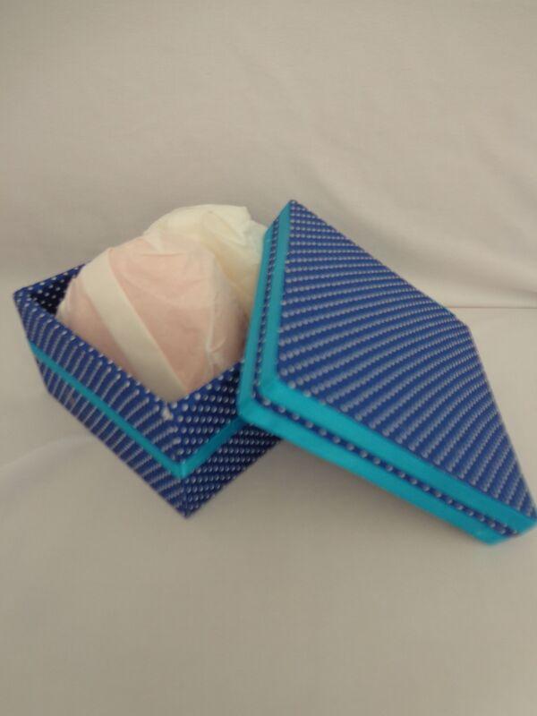 Caixa em MDF decorada em tecido
