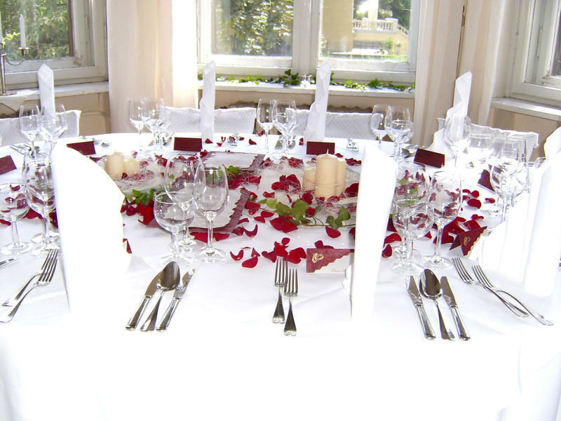Beispiel: Ihre Hochzeit perfekt dekoriert, Foto: Kreone.