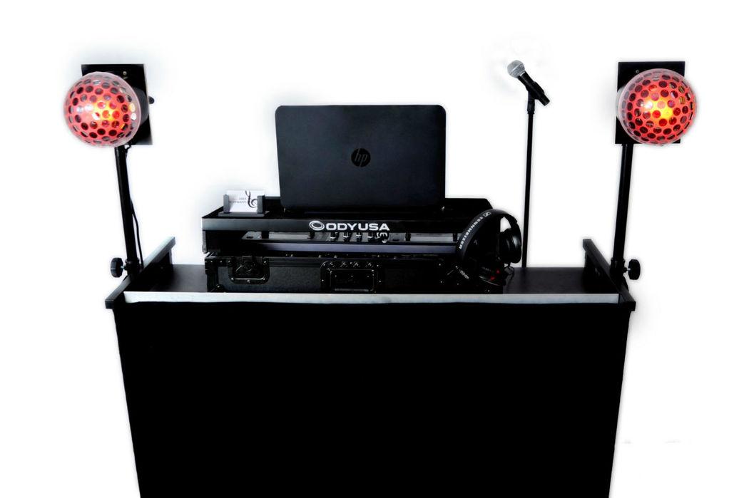 Der DJ-Stand