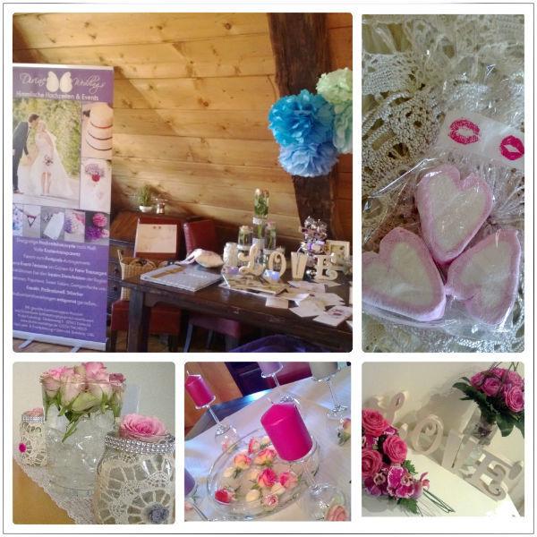 Beispiel: Das Hochzeitscafé, die eigene Hochzeitsmesse von Divine Weddings mit vielen tollen Highlights. Fotos: Divine Weddings.