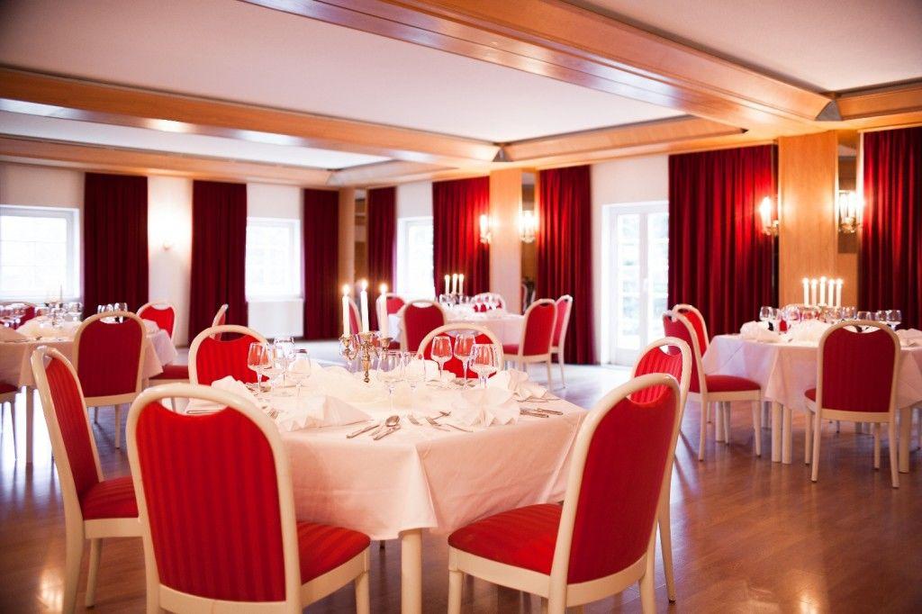 Beispiel: Festsaal, Foto: Landhotel Altes Zollhaus.