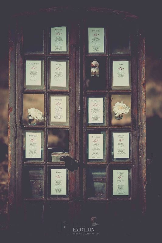 Ideas - Table plan - label' Emotion  - wedding planner London