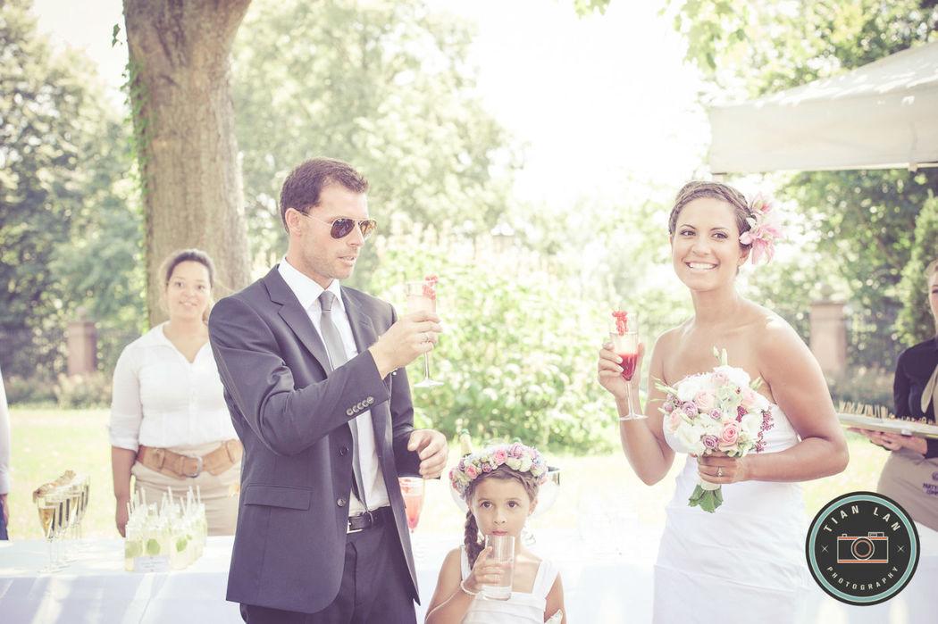 Beispiel: Professionelle Hochzeitsfotografie, Foto: Tian Lan Photography.