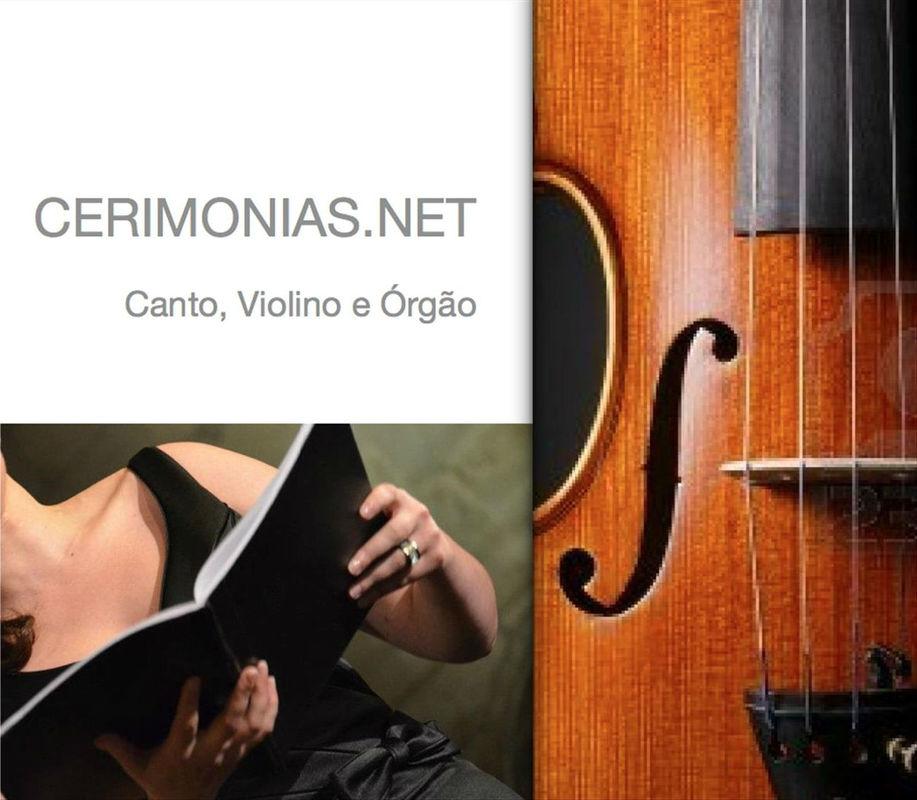 WWW.CERIMONIAS.NET - Canto Lírico, Violino e Órgão . Casamentos e Eventos