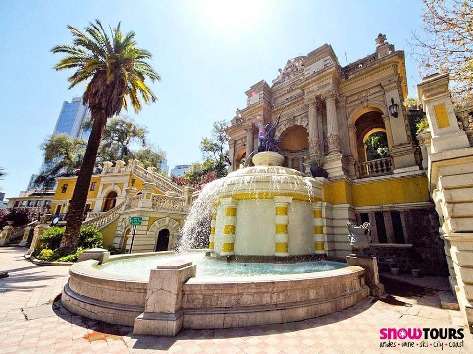 Snow tour Chile