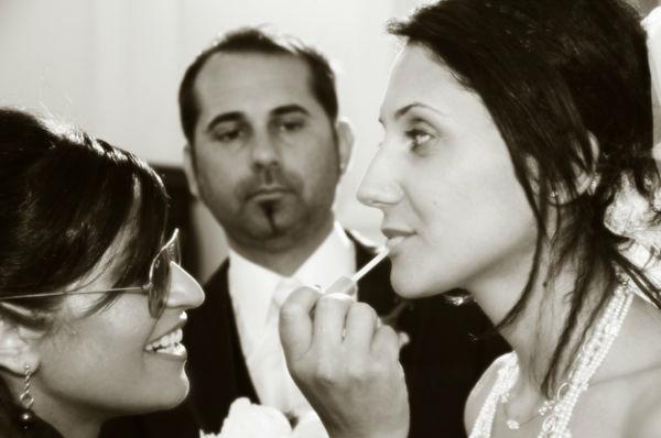 chiesa, ritocco sposa