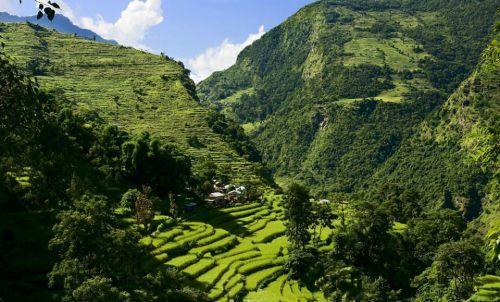 Beispiel: Beeindruckende Natur, Foto: Shanti Travel.