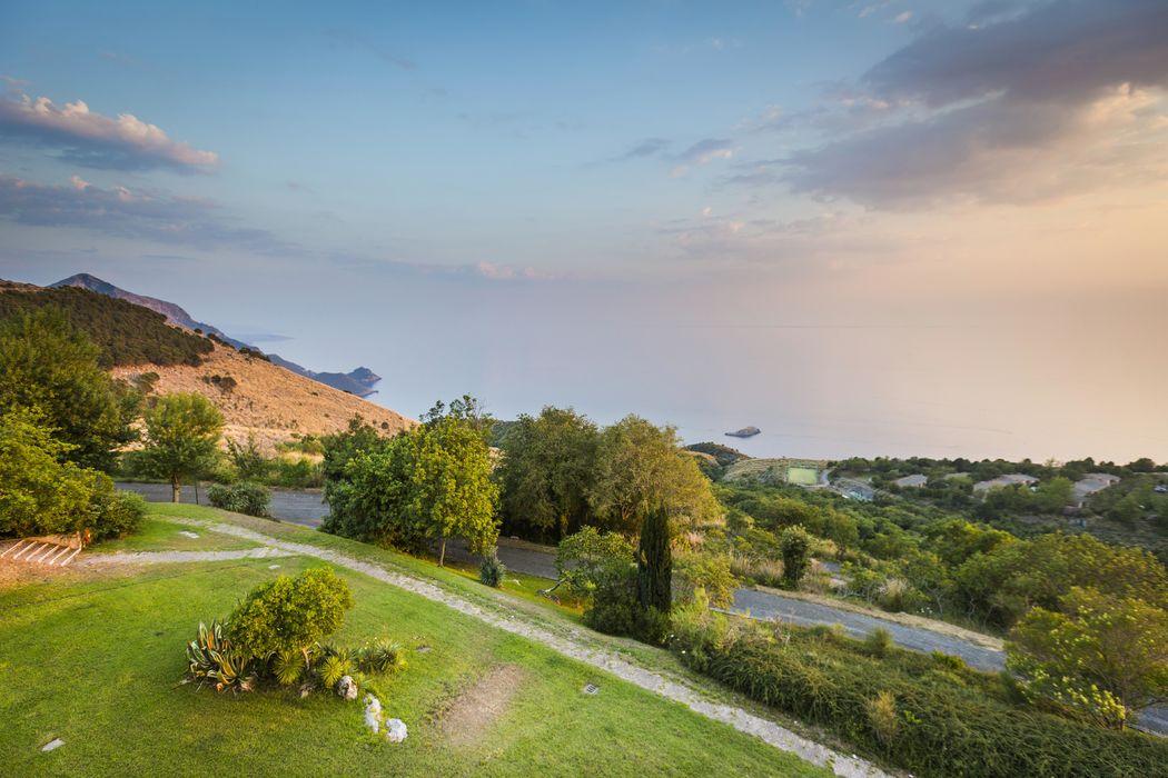 Grand Hotel Pianeta Maratea - il paesaggio al crepuscolo    -  photo: http://www.ndphoto.it/