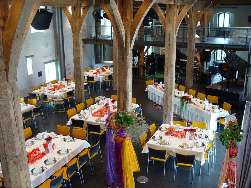 Beispiel: Hochzeitsgedeck, Foto: Zehntstadel.