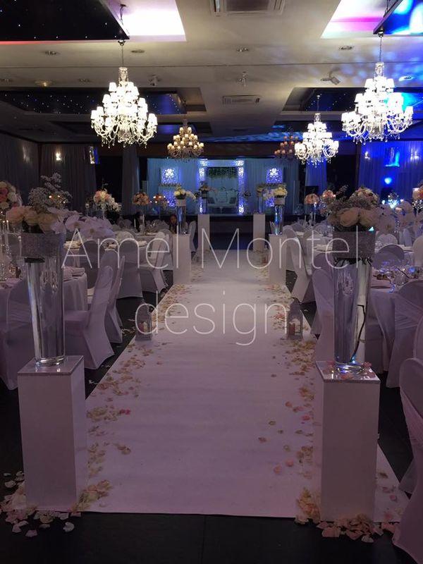 Amel Montel Wedding design