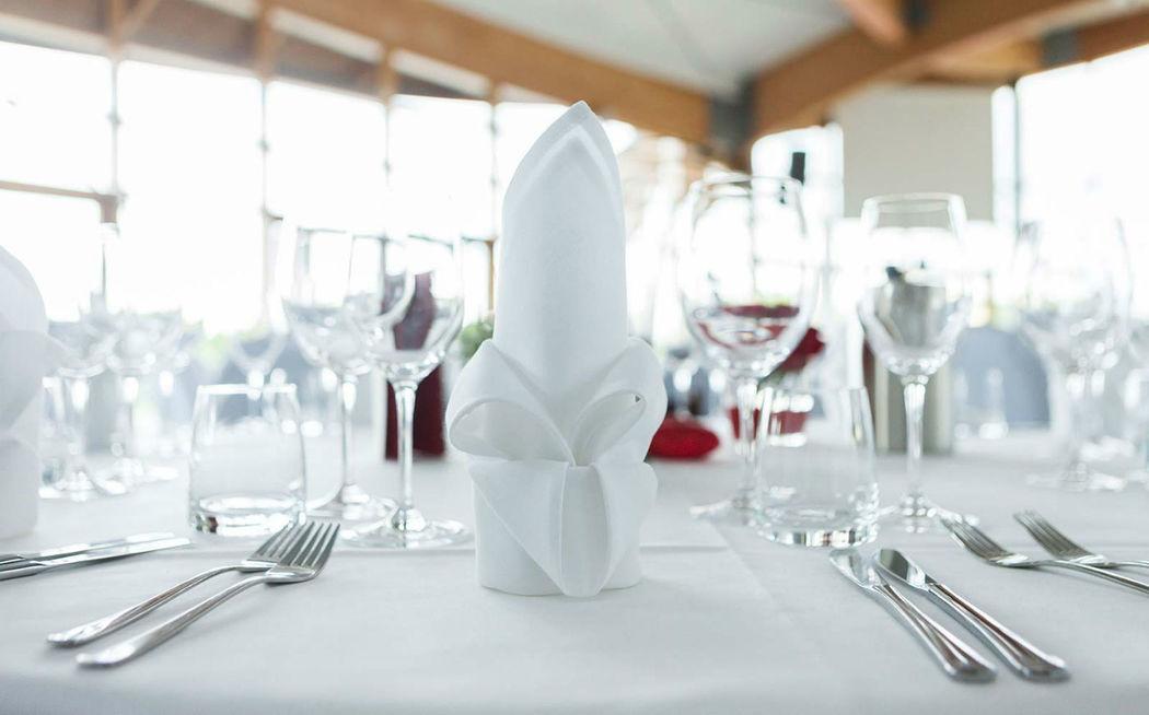 Beispiel: Tischdekoration, Foto: Expowal.