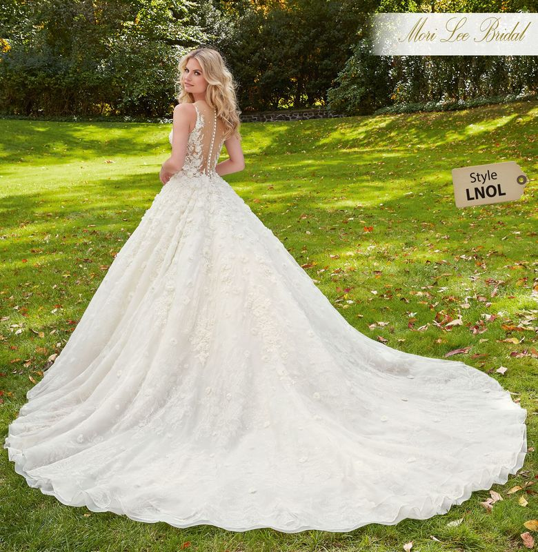 Dress style LNOL Maritza Wedding Dress Colors Available: White, Ivory, Ivory/Champagne.
